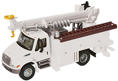 Walthers MOW White Utility Truck Drill