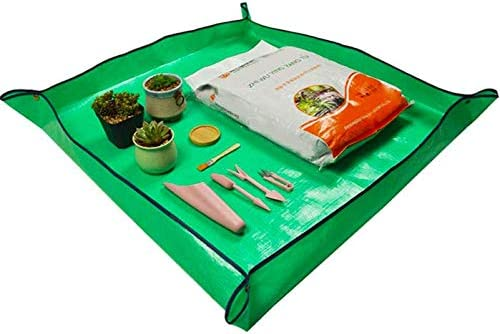 VIMOA Repotting Mat Waterproof Indoor Potting Tarp Planting Mat Apartment Gardening Mat for product image