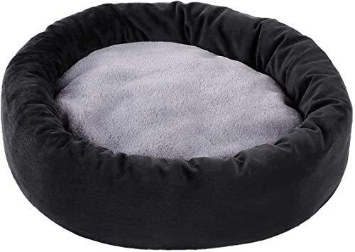 IUYJVR Cama para Mascotas Cat Nest, Cat Bed, Pet Dog Cat Sleeping Bed - Cojín Suave de Forma Redonda u Ovalada Pet Nest Cave Bed para Gatos y Perros pequeños - Camas para Mascotas Interiores y exte