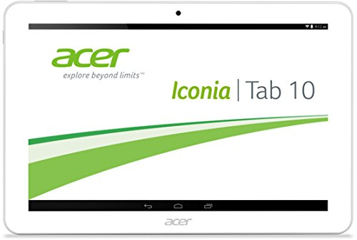 Acer Iconia Tab 10 A3-A20 FHD - Tablet de 10.1'' (WiFi + Bluetooth, MediaTek MT8127 Turbo Quad-Core, 2 GB de RAM, 32 GB, Android 4.4 actualizable a 5.0)