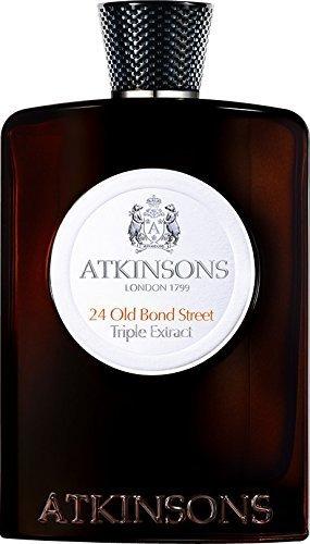 Atkinsons 24 Old Bond Street Triple Extract EDC 3.3 fl oz 100ml New Sealed by Atkinson's
