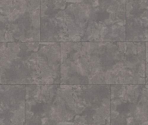HORI® Klick-Vinylboden Steinfliese Bielefeld Beton hell mit Microfase I für 19,39 €/m²