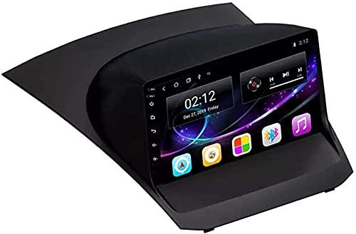 Android 10.0 Navegación GPS Radio Compatible con Ford Fiesta 2009-2017 Navegación GPS Unidad principal de 9 pulgadas Pantalla táctil HD Reproductor multimedia Video MP5 con WiFi DSP SWC Mirrorink