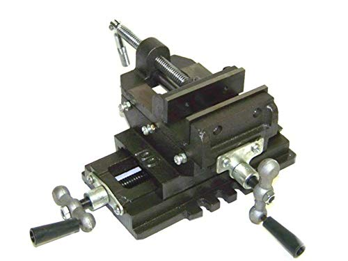 Best Price TimmyHouse Heavy Duty Cross Drill Press Vise 6Slide Metal Milling 2 Way Clamp Vice