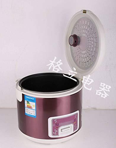 Rice cook Mini-Haushaltsgeräte, Reiskocher, Intelligente Reiskocher, Reiskocher, Klein,rot,5L