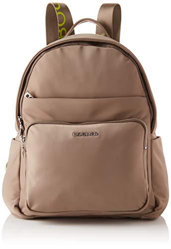 Bogner Damen Anouk Fashion Backpack/cit, mud, 25,5x34,5x12