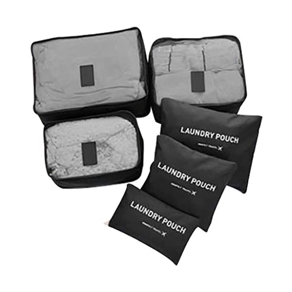 Ktyssp Waterproof Clothing Underwear Shoes Storage Bag Luggage Bag Travel Bag Six-Piece Item Storage
