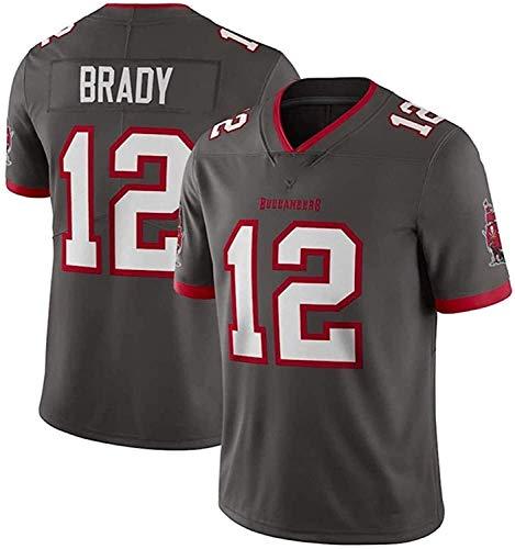 Tom Brady Jerseys, Buccaneers # 12 Jersey de fútbol Americano, versión Bordada, Camiseta 2021 Tribute Edición Limitada Jersey (Color : B6, Size : S)