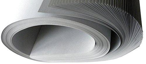 Graupappe für Schablonen, 0,5 mm, 90x140 cm SB, 1 VE mit 15 Bogen (=6,6 kg), gerollt