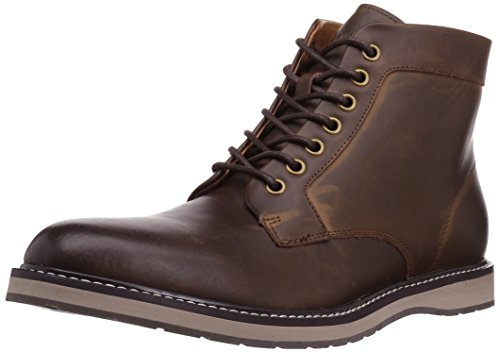 Tommy Hilfiger Men's Lari Chukka Boot, Brown, 12 Medium US