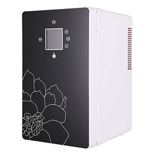 16L Mini Fridge, Portable Freezer, Large Capacity Compact Cooler and Warmer with Digital Thermostat Display and Control Temperature, Single Door Mini Fridge Freezer for Cars, Road Trips, Homes, Office