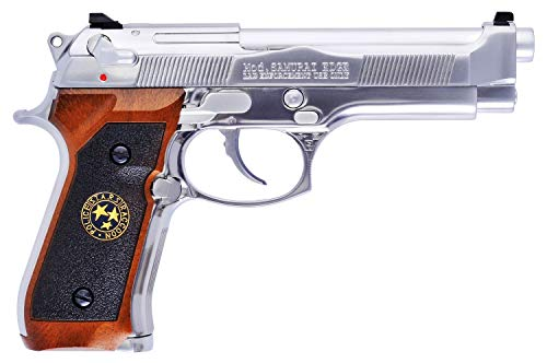 Softair We Pistola M92 Biohazard 0.9 Joule (W2058) (Argento)
