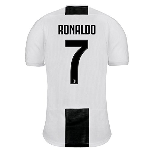 Adidas La Juventus 7 Ronaldo casa Camiseta 2018/19 - M, Blanco