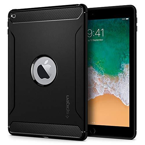 Spigen Rugged Armor Designed for iPad 9.7 Case iPad 5th/6th Generation Case (2017/2018) - Black