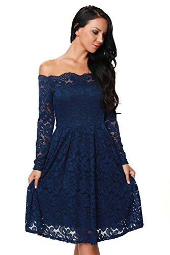 Jewel Off the Shoulder 3/4 Sleeve Wedding Dress Used