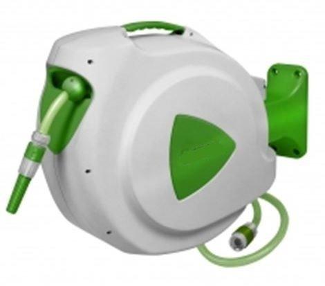 Eurom Gartenschlauchtrommel Schlauchtrommel Schlauchaufroller Schlauchrolle Wasserschlauchtrommel 30m Safe Return