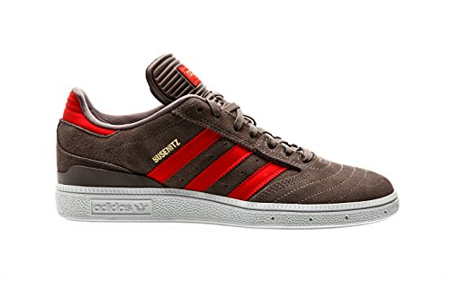 adidas Herren Busenitz Skateboardschuhe, Grau Tietec Rojo Dormet, 39 1/3 EU