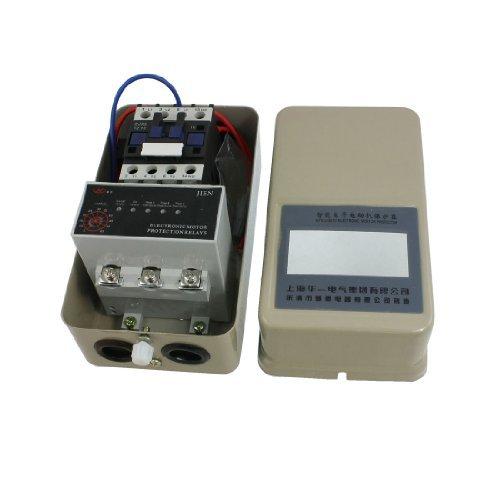 DealMux Trifásico 4 NO AC Contactor 5-65A Relé Inteligente Motor Protector, 3 kW, 220V