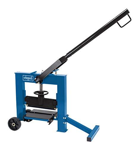 scheppach Steinknacker HSC120 - Schnitthöhe 25-140mm | Schnittlänge 320mm | Tischhöhe 120mm | 2 Messer