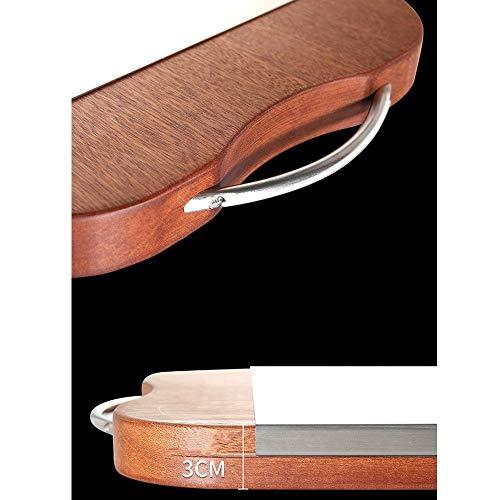 XMSIA Tabla de Cortar y Picar Tablero de Corte de Fibra de Madera Hogar Delgado Taja de picado Multifuncional fácil de Lavar para Carne, Verduras (Color : Multi-Colored, Size : 44.3X32.5X0.6CM)