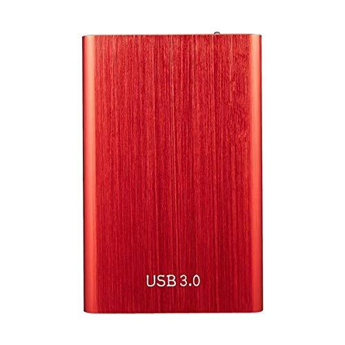 VDSOIUTYHFV Discos Duros Externos Portátiles 500GB-USB 3.0 para PC Computadora De Escritorio Computadora Portátil Game Drive Unidad Disco Duro Externa HDD