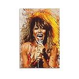 xiexun Tina Turner Leinwand-Kunst-Poster und