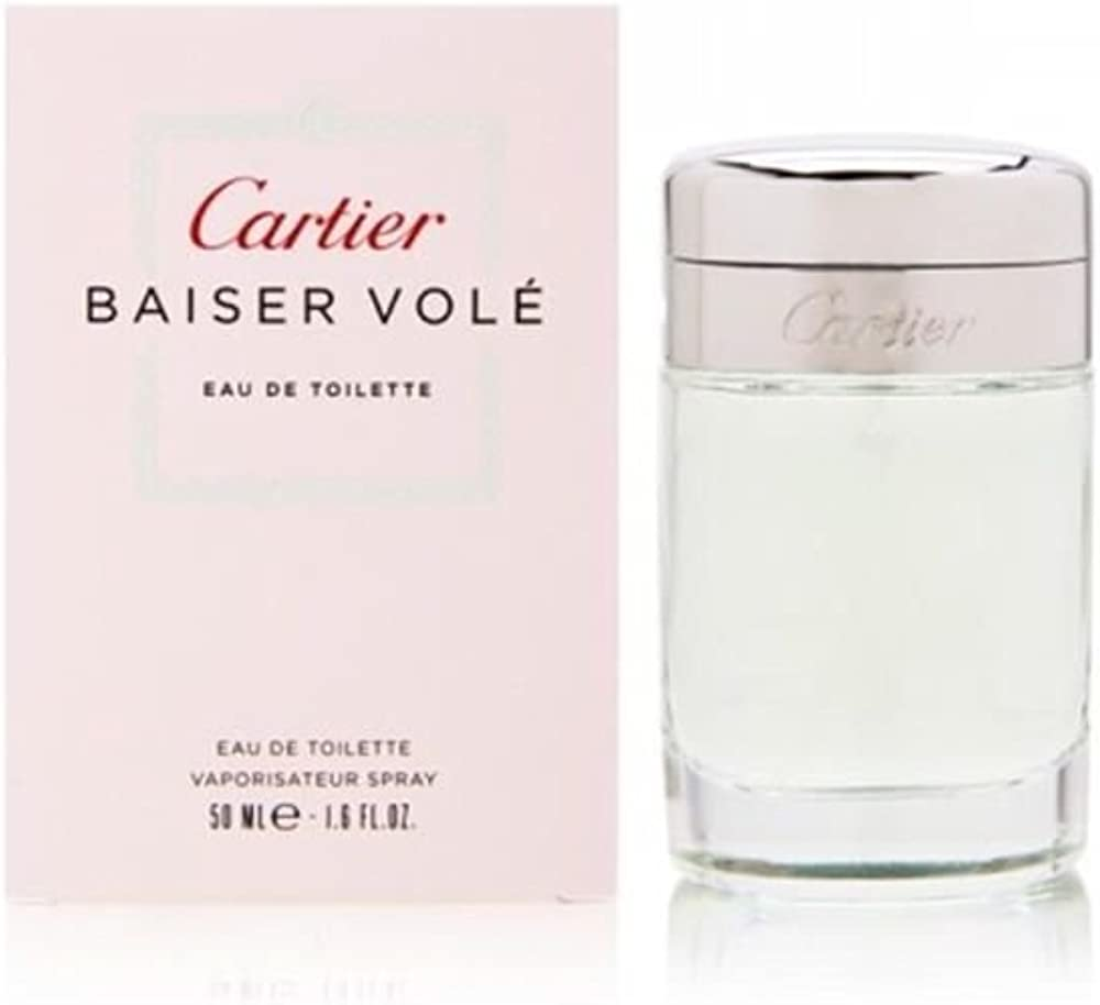 Cartier baiser vole eau de toilette per donna spray 50 ml 3432240029638