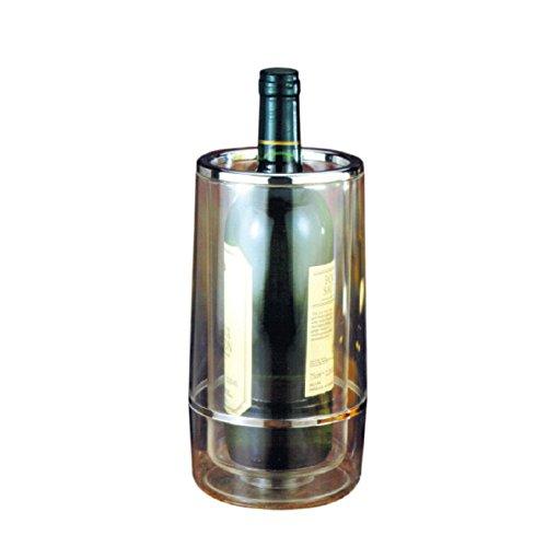 Garcia de pou Housse Bouteille Vin 12X23 Cm Transparent Acrylique - 1 unités