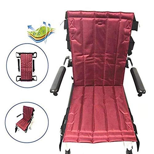GLJY Faltbarer Treppenlift für Patientenlifter, Mobilitätshilfen Gerätetransfer Notevakuierung Rollstuhlriemen-Schleuderscheibe für Senioren, bettlägerig, behindert, Übergewicht