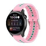 Correa de repuesto de silicona compatible con Huawei Watch...