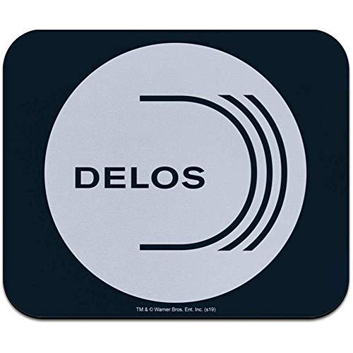 Westworld Delos Logo dunner muismat met laag profiel - 9.4x7.8 inch