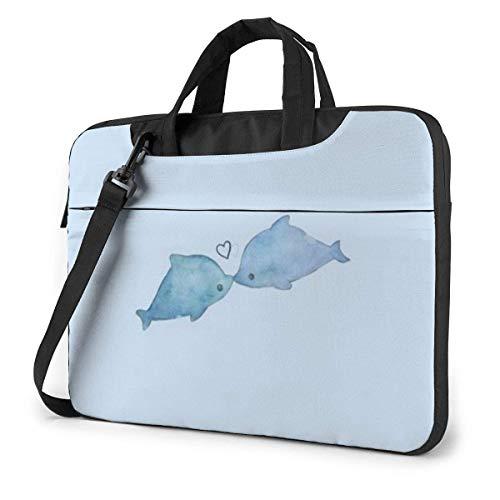 Kawaii Laptop Sleeve Case 15.6 Inch Computer Tote Bag Shoulder Messenger Briefcase