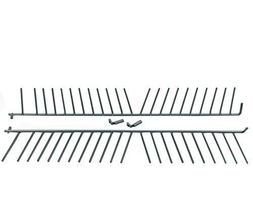 Unterkorbeinsatz für Teller, Gläser Geschirrspüler 2x22 Stacheln Bosch 00443403