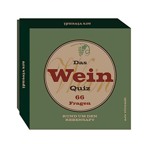 Wein-Quiz (Neuauflage): 66 Fragen rund um den Rebensaft