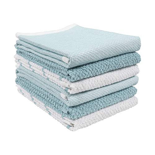 Top 10 Best Selling List for light blue kitchen towels