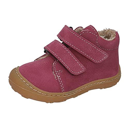 RICOSTA Pepino Crusty - Botas para niño (talla mediana), color marrón, rosa fucsia, 18 EU