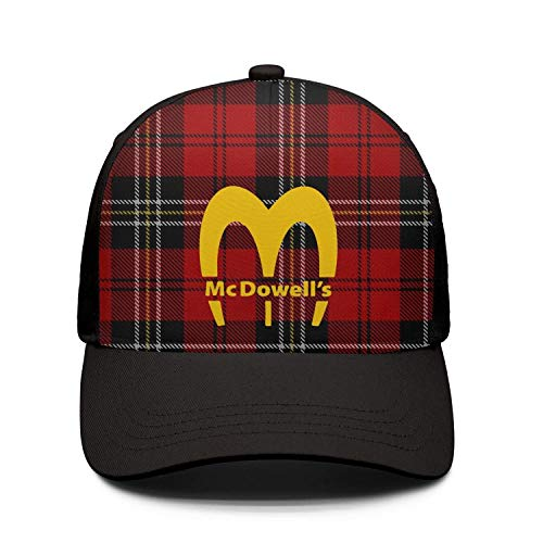 Coming-to-America-McDowell's-Logo- Women Fall Stylish Cap ColorName Hill Climbing Hats
