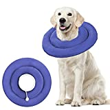 BABYLTRLL Dog Cone Collar for After Surgery, Soft Pet Recovery Collar for Dogs & Cats, Adjustable Water-Proof Cone Collar Protective Dog Cones for Large Dogs Prevent from Licking, Biting Wound