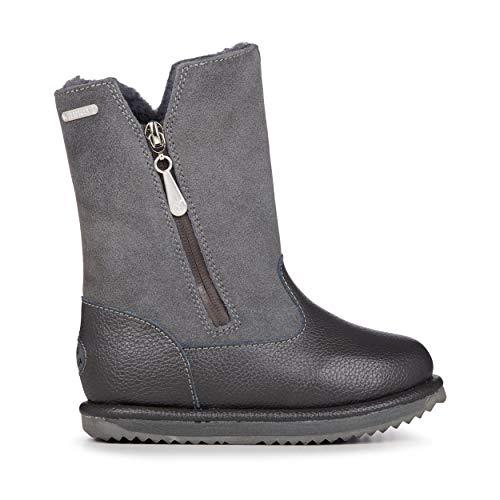 EMU Australia Commando Trigg Kids Wool Waterproof Boots Size 1 EMU Boots Blue Camo