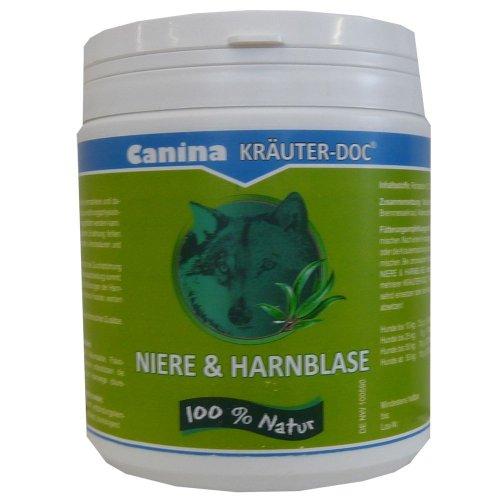 Canina Pharma KRÄUTER-DOC Niere & Harnblase 300g zur natürlichen Unterstützung