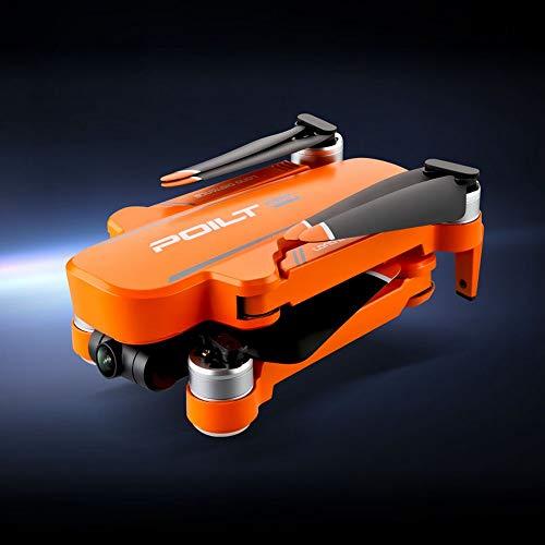 Taotuo Drone RC, JJRC X17 Drones con 6K Cámara dual GPS Quadcopter Flujo óptico Helicóptero de juguete sin escobillas, 30 minutos de tiempo de funcionamiento (amarillo-1 batería)