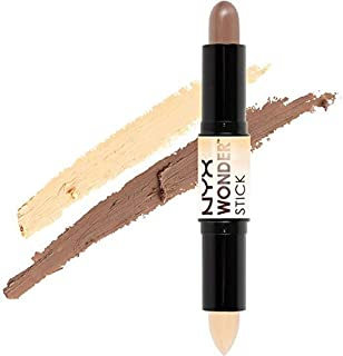 NYX Wonder Stick Highlight and Contour - WS01, Light/Medium