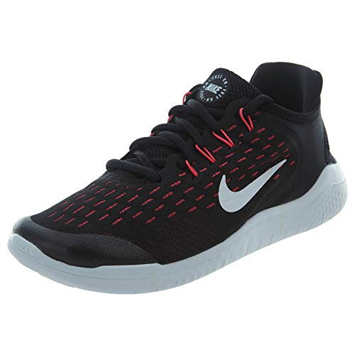 Nike Free RN 2018 GS Running Trainers AH3457 Sneakers Shoes (UK 5 US 5.5Y EU 38, Black White Racer Pink Volt 001)