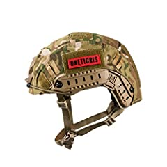 Adjustable system with replaceable leather front, nape, and side pads quickly detaches to allow convenient donning and doffing of Coms headsets with internal top headbands Accessory Rail Connectors for attachments with other gear Molded-in front moun...