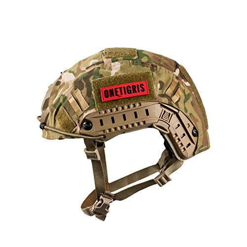 OneTigris Unisex's PJ Tactical airosft Helemt Helmet, Multicam, One Size