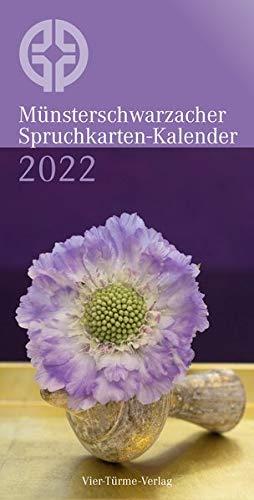 Münsterschwarzacher Spruchkarten-Kalender 2022 (Münsterschwarzacher Kalender)