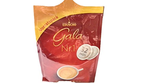 Eduscho Gala Nr.1 Klassik, 32 Kaffeepads, 252g Packung