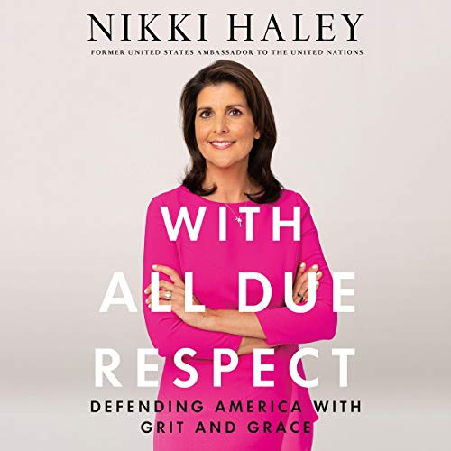 With All Due Respect audiobook cover art