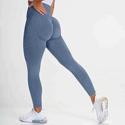 ArcherWlh Leggings Womens Butt Lifting,Seamless Leggings Push Up Butt Lifting Workout Leggings For Women High Waist Sport Pants Leggins Athletic Gym Leggings Sportwear-B_L