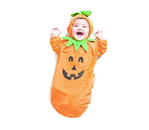 Baby Plush Pumpkin Bunting Costume - 0-6...